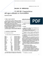UNE 111-301-90 Características Agua Hemodinamica MB