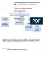 Mapa Conceptual de Procesos de Fabricacion