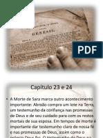 Capítulo 23 e 24