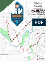 Crim 5 Mile Race map