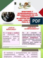 Plan de Monitoreo y Acompañamiento Docente Ceba Ciro Alegria 2018