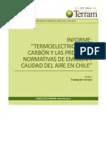 Informe EPU Termoelectricidad a Carbón y Las Precarias Normativas de Emisión y Calidad Del Aire en Chile - Julio 2018 PDF