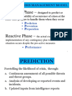 Phases of Crisis Management