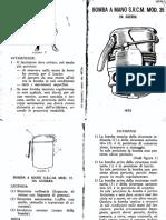 Bomba a Mano S R C M Mod 35 Da Guerre - 1972.pdf