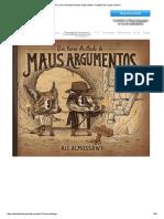 ALMOSAWI, Ali. Um Livro Ilustrado de Maus Argumentos.
