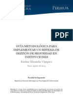 Guía Para Implementar un SGSI - tesis