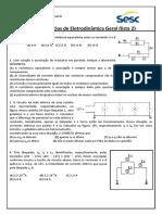Física - Clóvis - Exercícios de Eletrodinâmica Geral (Lista 1) 2018