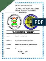 El Ministerio Público - Unu