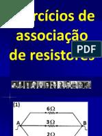 Física - Clóvis - Questões Associação de Resistores 2018 Lista 1