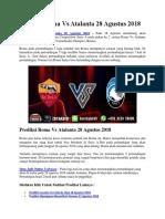 Prediksi Roma Vs Atalanta 28 Agustus 2018.docx