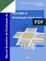 Manual Brasileiro de Sinalização de Trânsito (CONTRAN) - Volume IV_ Sinalização Horizontal.pdf