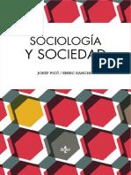 Sociología y Sociedad. Josep Picó y Enric Sanchis