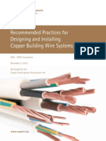 Copper Wire Install Standard