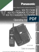 Panasonic KXTC1743B