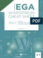 Wordpress Cheat Sheet v 1