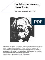 Marxists, the labour movement, and the Labour Party
