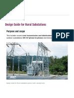 Design Guide for Rural Substations