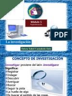 Investigación/ Módulo 5