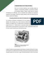 Motor Monofásico de Fase Dividida
