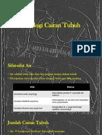 1 - Fisiologi Cairan Tubuh