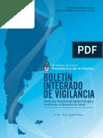 Boletín Integrado de Vigilancia Epidemiológica Agosto 2018