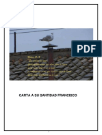 Carta Papa Francisco