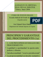 La Oralidad en El Sistema Procesal Penal Español 2