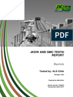Final JKDW and SMC Report for Veladero Project