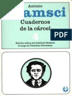 Antonio Gramsci - Cuadernos de La Cárcel - Tomo 4