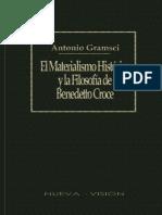 Antonio Gramsci - El Materialismo Historico y La Filosofía de Benedetto Croce