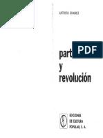 Antonio Gramsci - Partido y Revolución