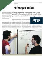 Mentes que Brillan - Artículo de Mensa Argentina