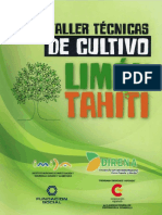 Anexo 9. Cartilla Técnicas de Cultivo Limón Tahiti