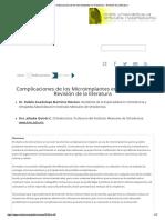 Complicaciones de los Microimplantes en Ortodoncia - Revisión de la literatura.pdf