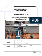 Lab 6 Transformador Trifásico
