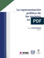 La Representación Política de las Mujeres en México - Flavia Freidenberg.pdf