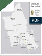Hurricane Lane Shelter Locations