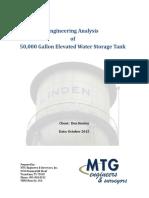 Water Tower Engineering Summary Oct2015