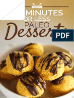 10 Minutes or Less Paleo Desserts