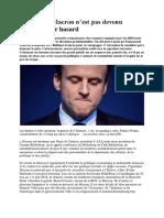 Emmanuel Macron n