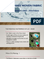 Lio Ende Woven Fabric Ppt
