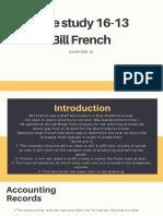 Case Study 16-3 Bill French