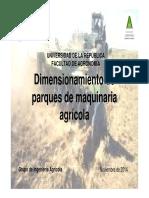 Dimensionamiento 2014