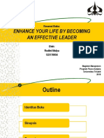 Review Buku_Enhance Your Life by Becoming an Effective Leader