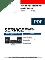 Samsung MX JS5000 Service Manual