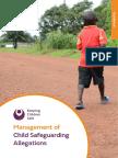 KCS GUIDANCE ManagementSafeguarding 2016