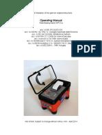ANIX Plate Bearing Tester Operating Manual Ax01a Engl V40
