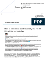 How to Implement Elastoplasticity in a Model Using External Materials _ COMSOL Blog