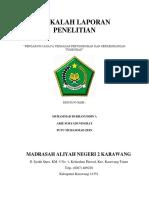 MAKALAH LAPORAN PENELITIAN.docx