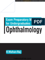 Exam Preparatory Manual for Undergraduates Ophthalmology